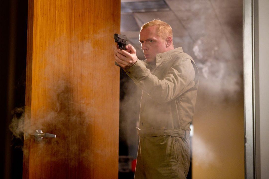 Ohne das Computergenie Benji Dunn (Simon Pegg) wäre Ethan auf der Jagd nach einem geheimen Code wohl völlig aufgeschmissen. Ob sie noch rechtzeiti... - Bildquelle: 2011 Paramount Pictures.  All Rights Reserved.