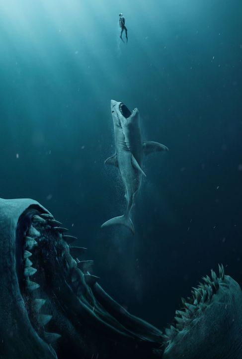 Meg - Artwork - Bildquelle: 2018 Warner Bros. Entertainment Inc. All Rights Reserved.