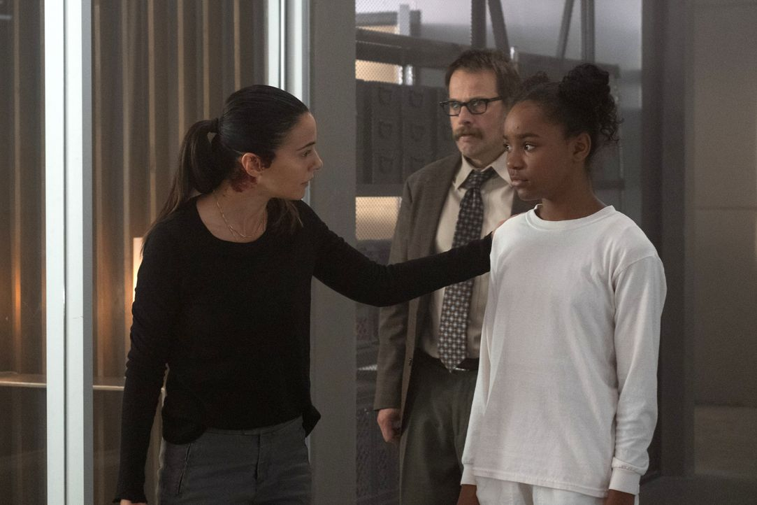 (v.l.n.r.) Dr. Lila Kyle (Emmanuelle Chriqui); Horace Guilder (James Le Gros); Amy Bellafonte (Saniyya Sidney) - Bildquelle: Erika Doss 2019 Fox and its related entities. All rights reserved. / Erika Doss