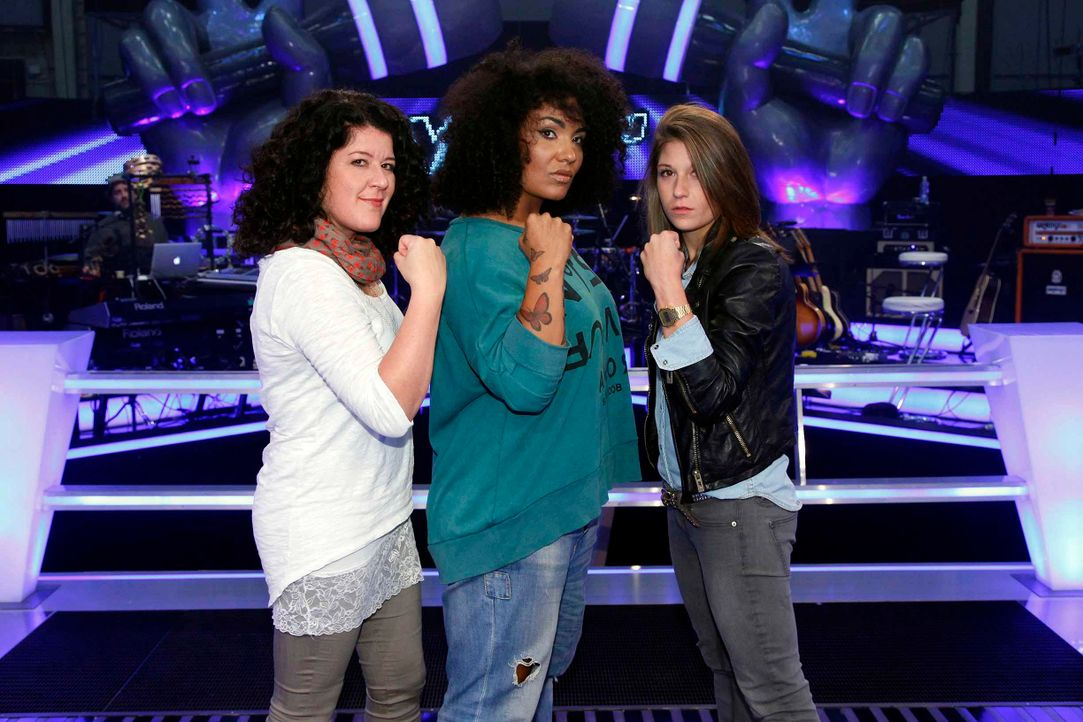 battle-mayamo-vs-tiffany-vs-madeleine-02-the-voice-of-germany-huebnerjpg 2448 x 1632 - Bildquelle: SAT.1/ProSieben/Richard Hübner