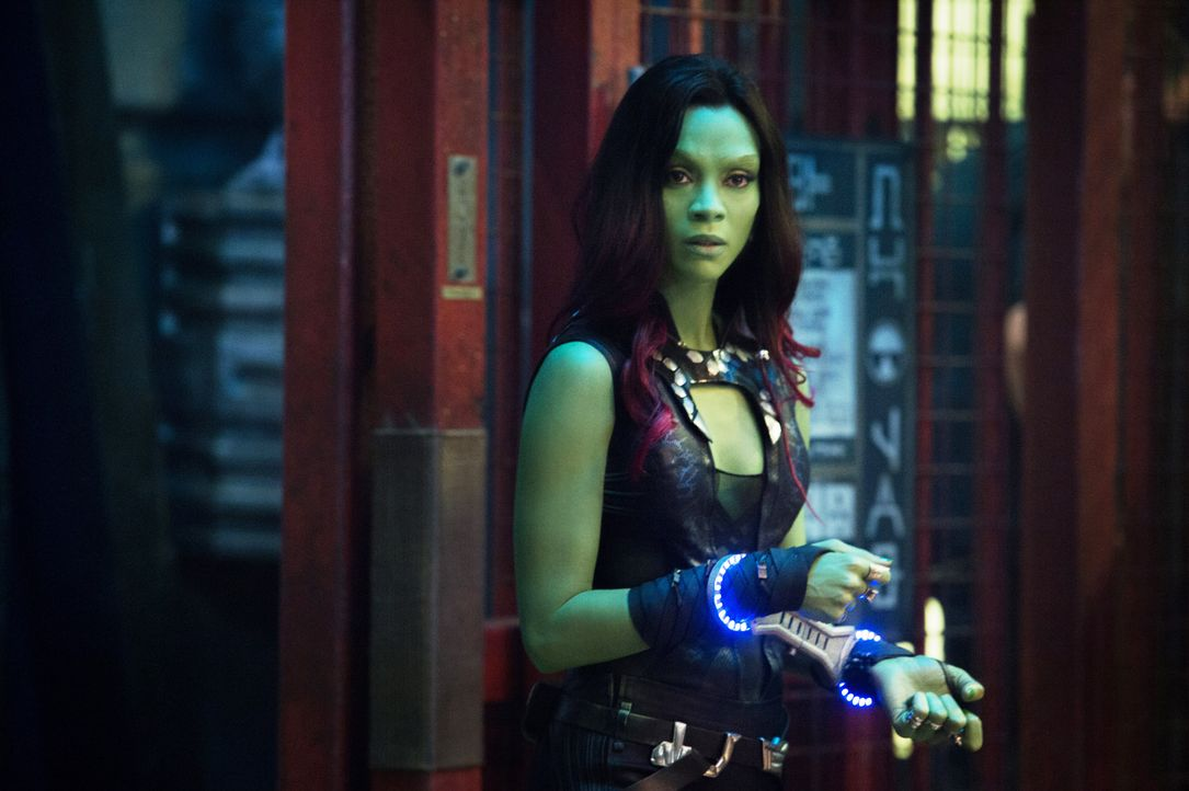 Zoe-Saldana-Guardians-Of-The-Galaxy-2014Marvel - Bildquelle: Disney Media Distribution