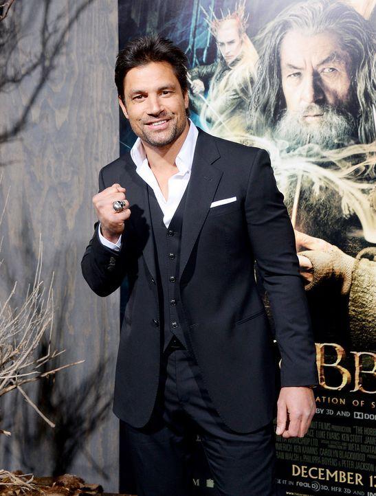 The-Hobbit-Premiere-LA-Manu-Bennett-131202-1-getty-AFP - Bildquelle: getty-AFP