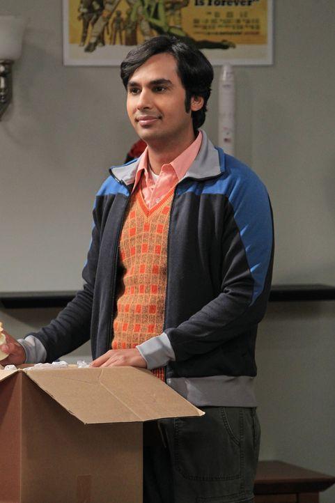 Steht Howard beim Auszug bei: Raj (Kunal Nayyar) ... - Bildquelle: Warner Bros. Television