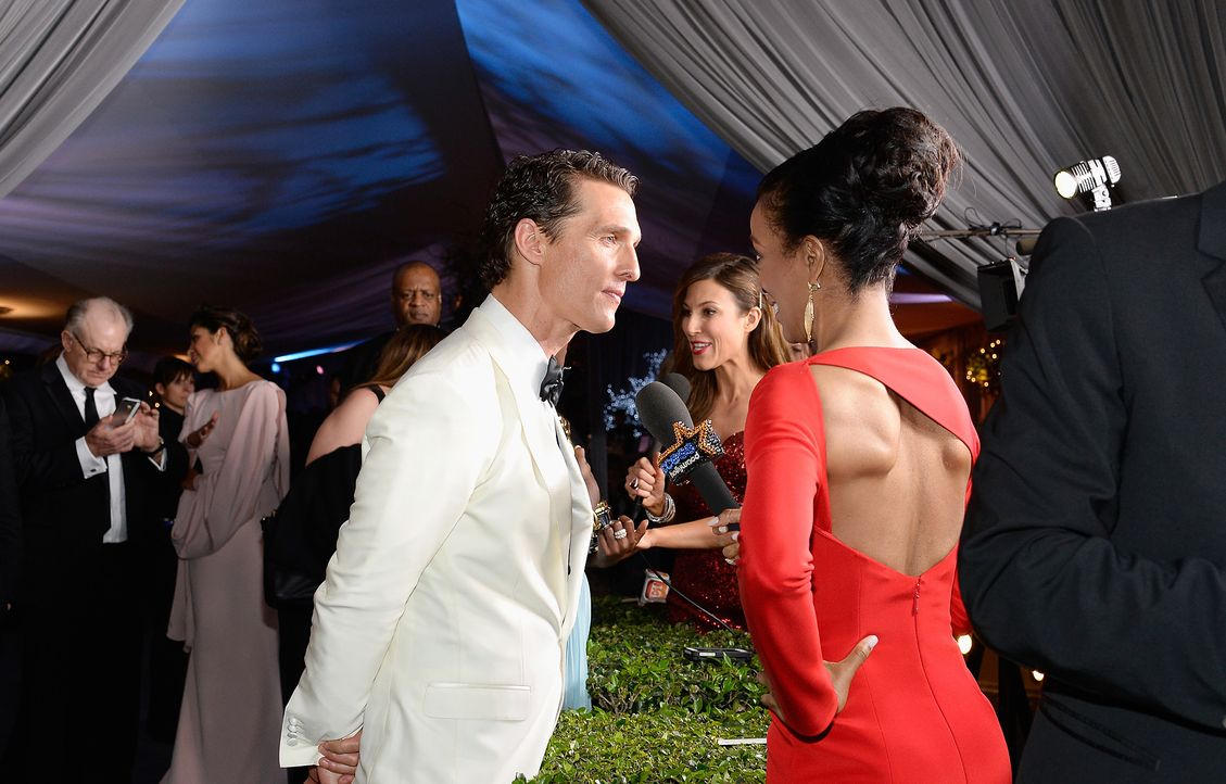 Oscars-Governors-Ball-Matthew-McConaughey-140302-1-getty-AFP - Bildquelle: getty-AFP