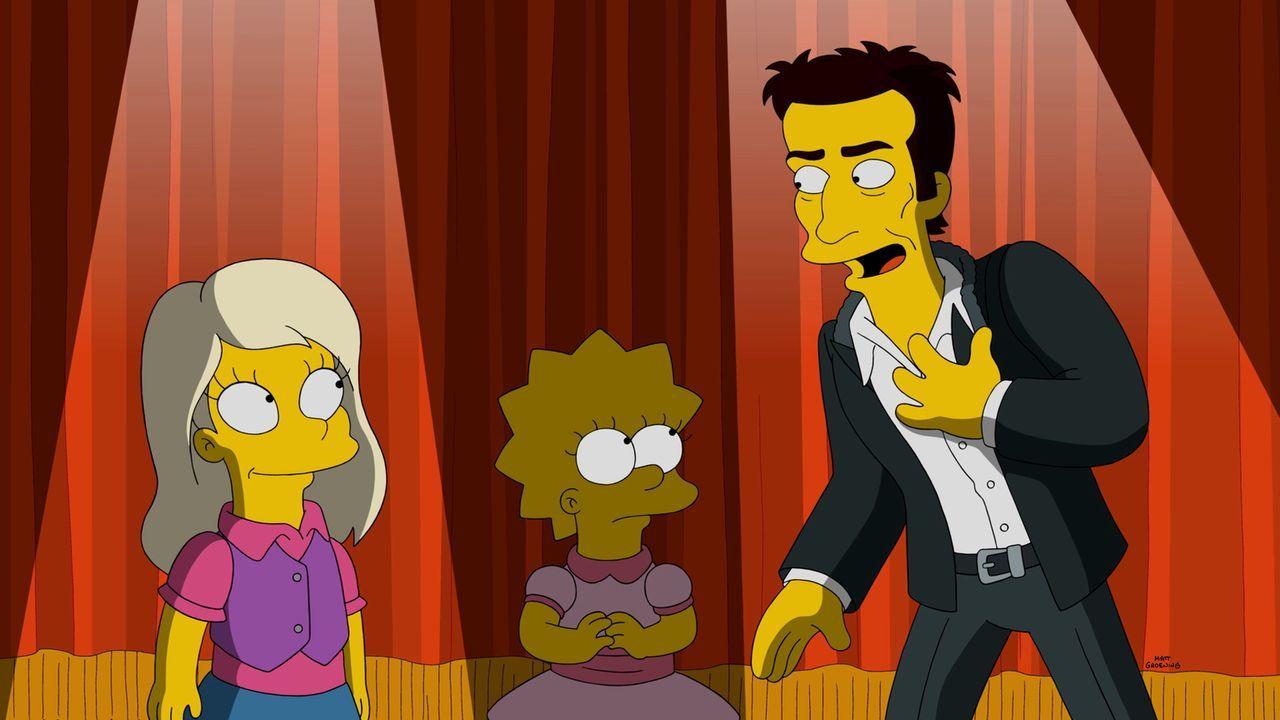 Durch ihre neue Freundin Harper (l.) lernt Lisa (M.) David Copperfield (r.) kennen. Doch schon bald, muss Lisa feststellen, dass die Vorzüge, die si... - Bildquelle: 2015 Fox and its related entities.  All rights reserved.