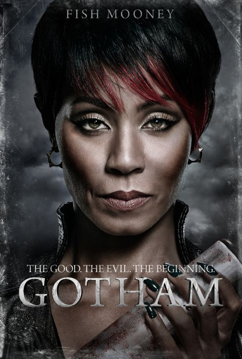 (1. Staffel) - Anführerin einer mächtigen Gangstervereinigung in Gotham: Fish Mooney (Jada Pinkett Smith) ... - Bildquelle: Warner Bros. Entertainment, Inc.