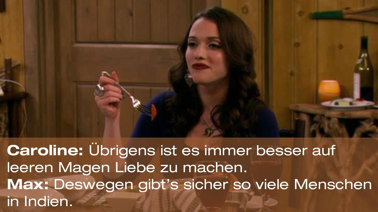 2-broke-girls-zitat-quote-staffel2-episode13-wochenende-max-indien-warnerpng 1600 x 900 - Bildquelle: Warner Bros. Television