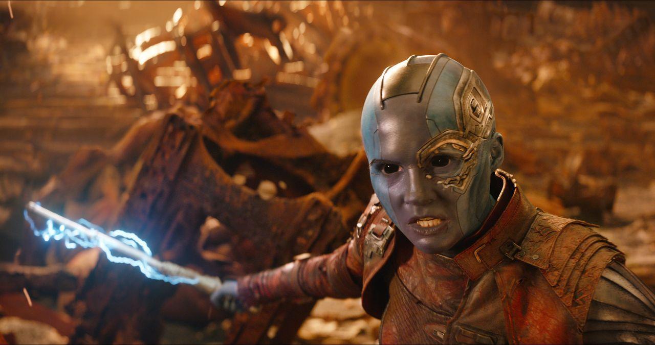 Nebula (Karen Gillan) - Bildquelle: Marvel Studios 2018