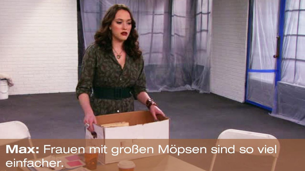 2-broke-girls-zitat-quote-staffel2-episode9-boss-max-moepse-warnerpng 1600 x 900 - Bildquelle: Warner Brothers