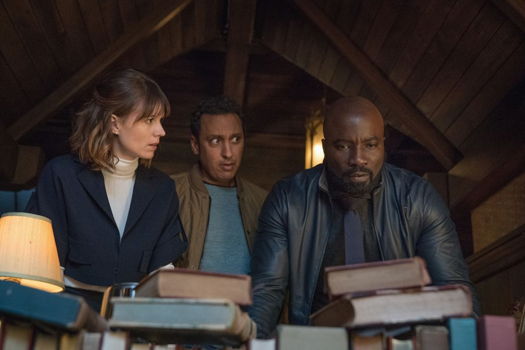 (v.l.n.r.) Kristen Bouchard (Katja Herbers); Ben Shakir (Aasif Mandvi); David Acosta (Mike Colter) - Bildquelle: Elizabeth Fisher 2019 CBS Broadcasting, Inc. All Rights Reserved / Elizabeth Fisher