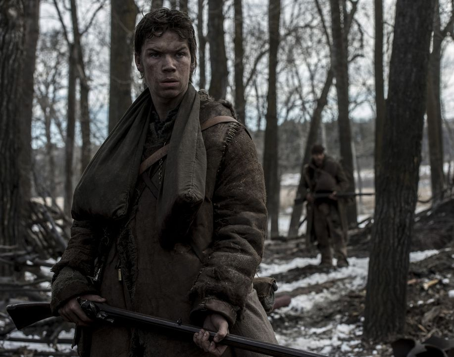 Wird sich der junge Trapper Bridger (Will Poulter) von seinem Kollegen, einem ehemaligen Soldaten, zu einer grausamen Tat überreden lassen? - Bildquelle: Kimberley French 2015 Twentieth Century Fox Film Corporation.  All rights reserved.