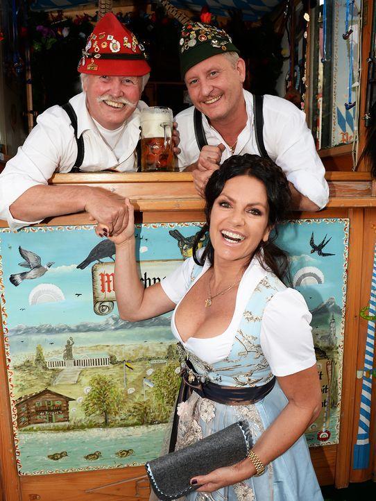 Oktoberfest-Christine-Neubauer-13-09-22-dpa - Bildquelle: dpa picture alliance