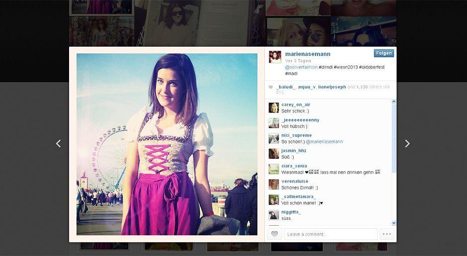 Oktoberfest-Marie-Nasemann-13-09-23-Instagram Kopie - Bildquelle: Instagram/Marie Nasemann