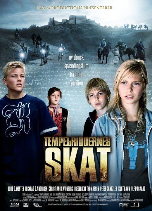 Der verlorene Schatz der Tempelritter - Plakatmotiv - Bildquelle: Nordisk Film Biografdistribution