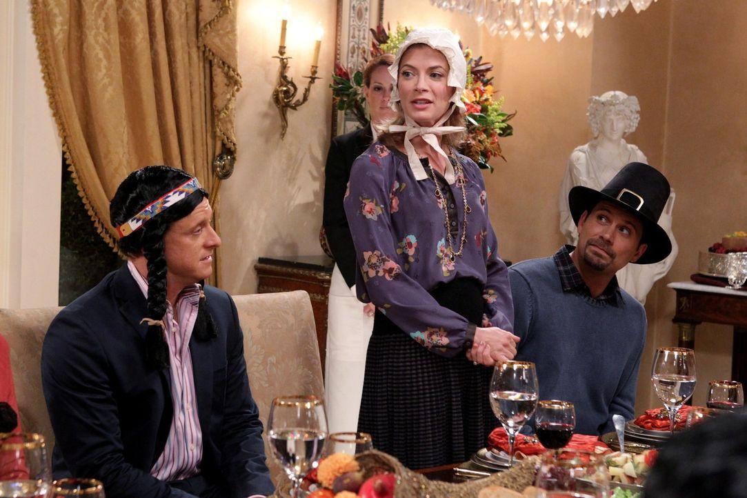 Noch läuft alles wie geplant: Noah (Alan Tudyk, l.), Jill (Gillian Vigman, M.) und George (Jeremy Sisto, r.) ... - Bildquelle: Warner Bros. Television