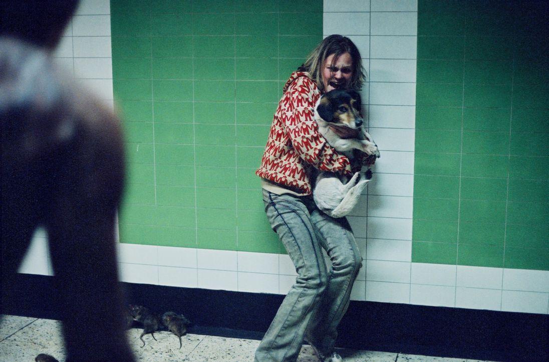 Gerät ins Visier des unheimlichen Killers: die Obdachlose Mandy (Kelly Scott) ... - Bildquelle: TMG