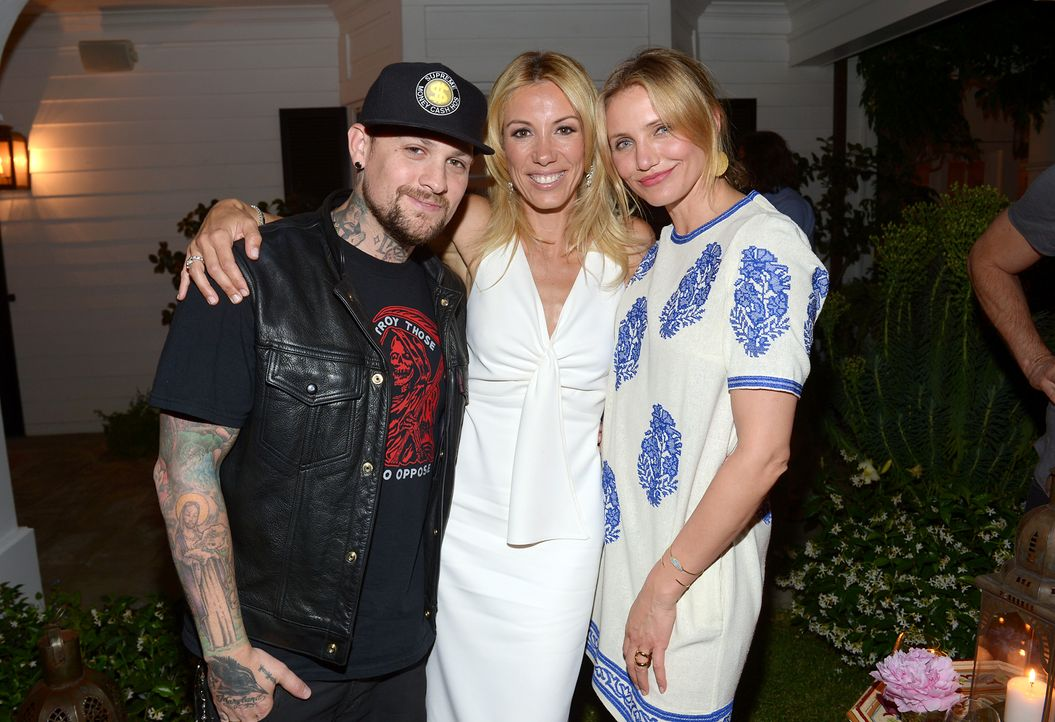 Benji-Madden-Vicky-Vlachonis-Cameron-Diaz-140515-getty-AFP - Bildquelle: getty-AFP