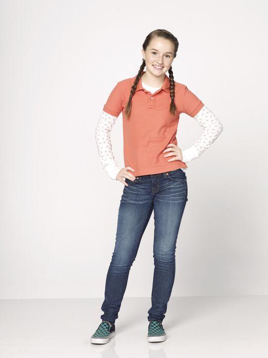 (1. Staffel) - Für Mode und Kosmetik interessiert sich Eve (Kaitlyn Dever) ganz und gar nicht. Sie würde am liebsten den ganzen Tag auf dem Fußballp... - Bildquelle: 2011-2012 American Broadcasting Companies. All rights reserved.