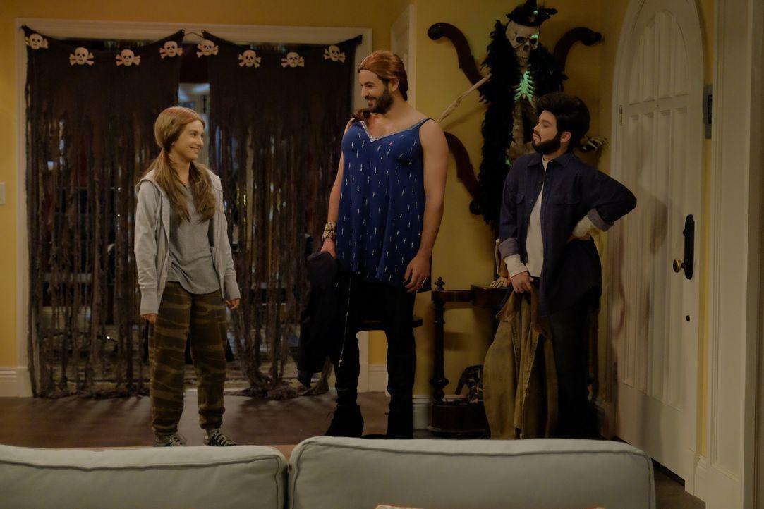 (v.l.n.r.) Mandy (Molly Ephraim); Ryan (Jordan Masterson); Kristin (Amanda Fuller) - Bildquelle: 2016-2017 American Broadcasting Companies. All rights reserved.