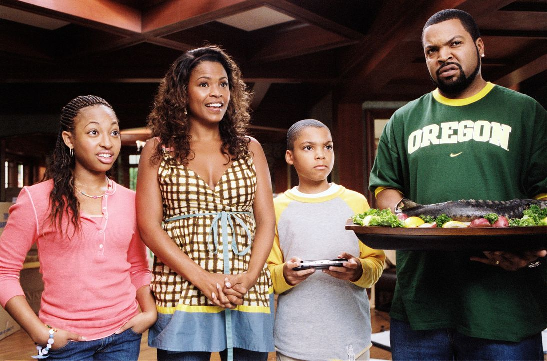 Nicht ahnend, was auf sie zukommt, gibt Suzanne (Nia Long, 2.v.l.) schließlich dem Vorschlag Nicks (Ice Cube, r.) nach, das Haus eigenhändig zu re... - Bildquelle: 2007 Revolution Studios Distribution Company, LLC. All Rights Reserved.
