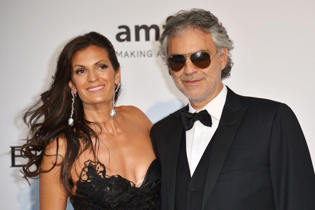 Cannes-Filmfestival-amfAR-Andrea-Bocelli-140522-AFP - Bildquelle: AFP