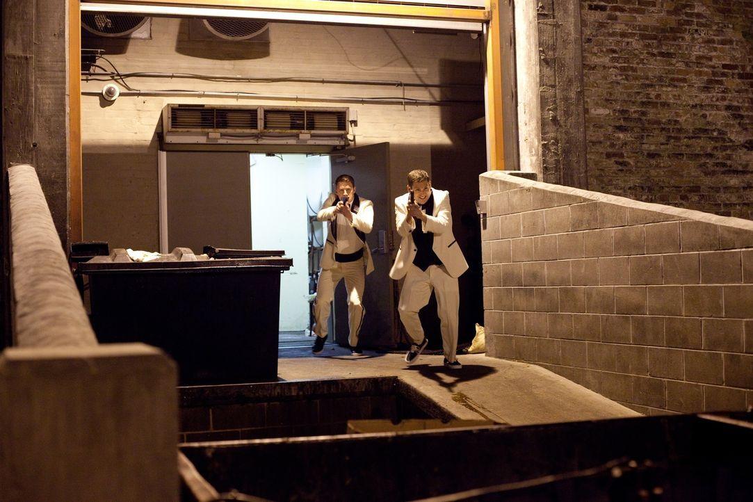 Als Molly entführt wird, wird aus dem anfänglichen Spaß langsam tödlicher Ernst für Schmidt (Jonah Hill, r.) und Jenko (Channing Tatum, l.) ... - Bildquelle: TM &  2014 Metro-Goldwyn-Mayer Studios Inc. All Rights Reserved.