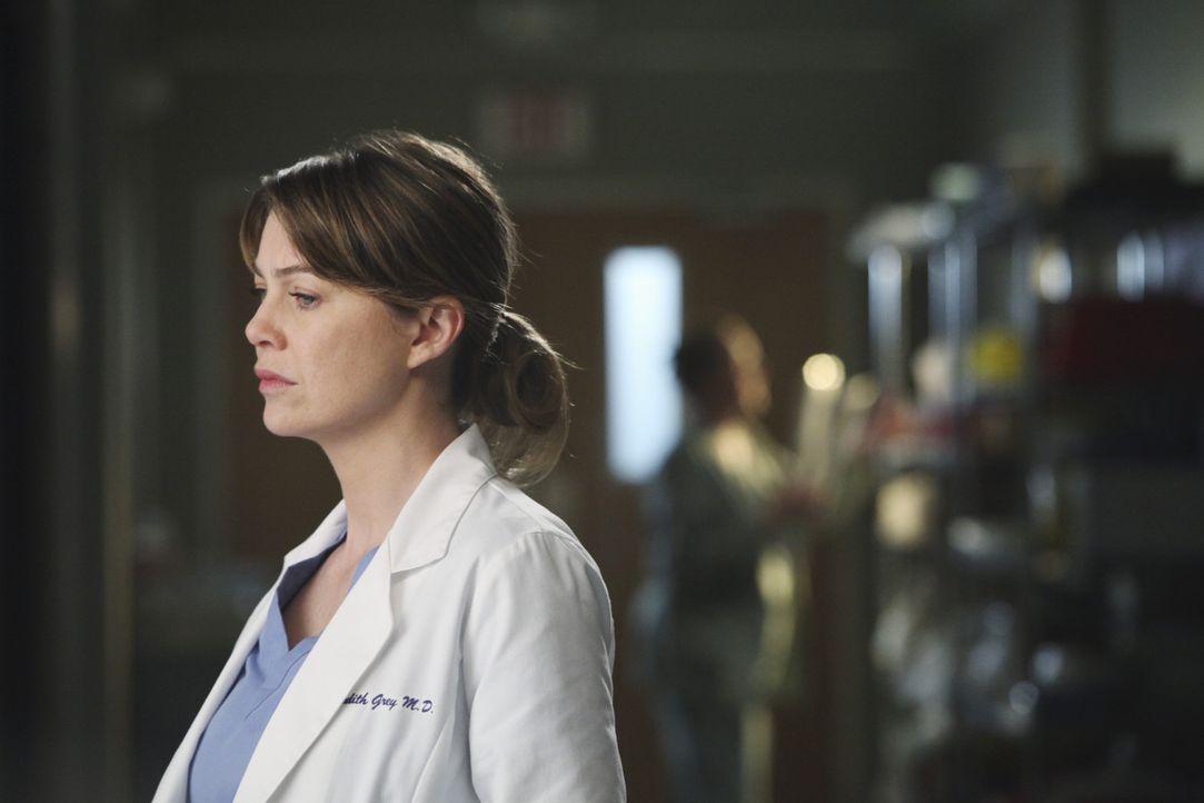 Hat die Oberaufsicht über die Notaufnahme, die aus allen Nähten platzt: Meredith (Ellen Pompeo) ... - Bildquelle: ABC Studios