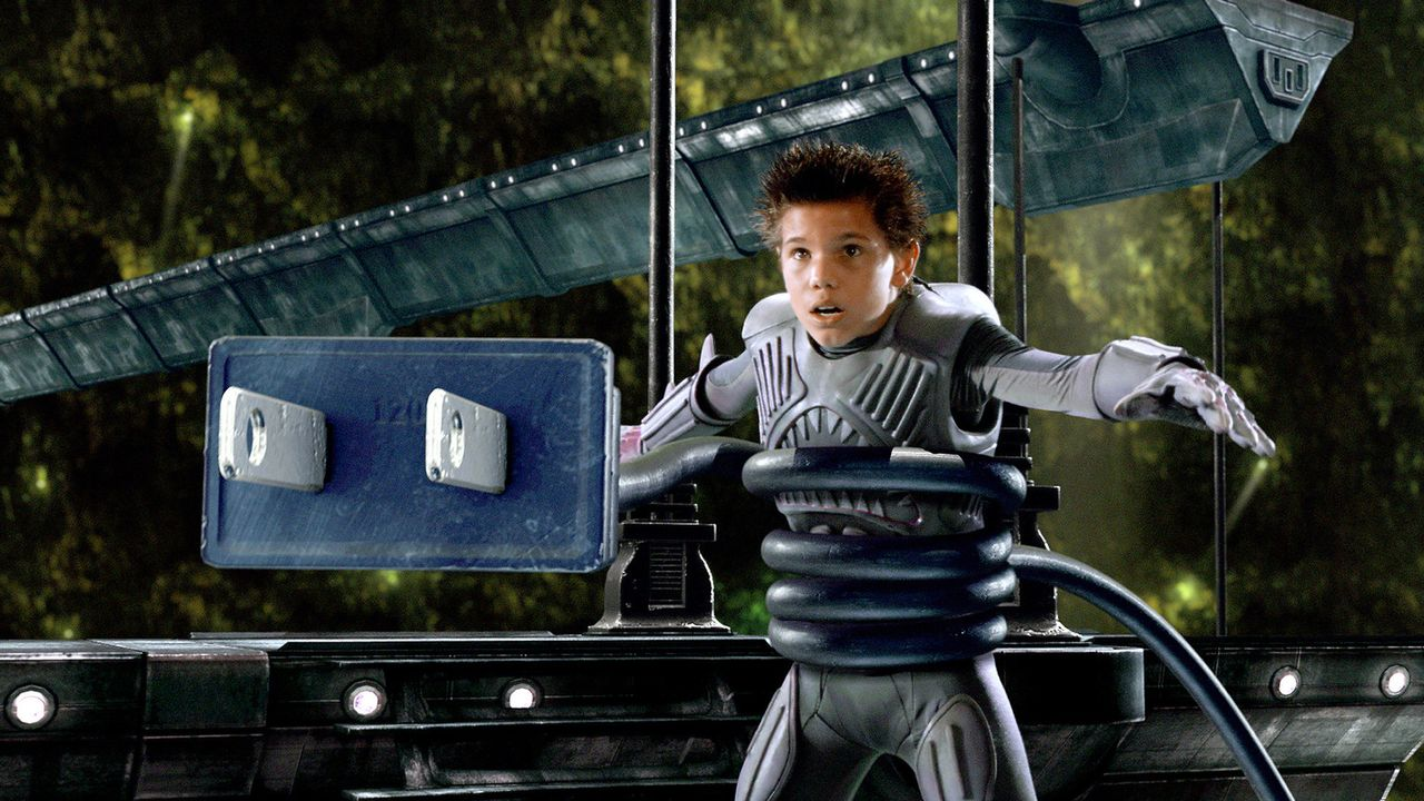 Als Shark Boy (Taylor Lautner) und Lava Girl trotz ihrer Superkräfte in die Hände des hemmungslosen Mr. Electric fallen, muss Max seine Träume Re... - Bildquelle: 2005 Miramax Film Corp. All Rights Reserved.