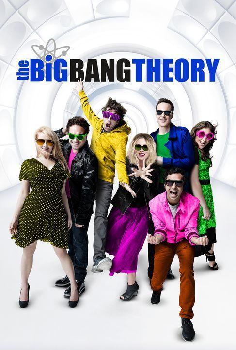 (10. Staffel) - Trotz ihrer Unterschiede sind sie eine super Truppe: Howard (Simon Helberg, 3.v.l.), Leonard (Johnny Galecki, 2.v.l.), Penny (Kaley... - Bildquelle: Warner Bros. Television