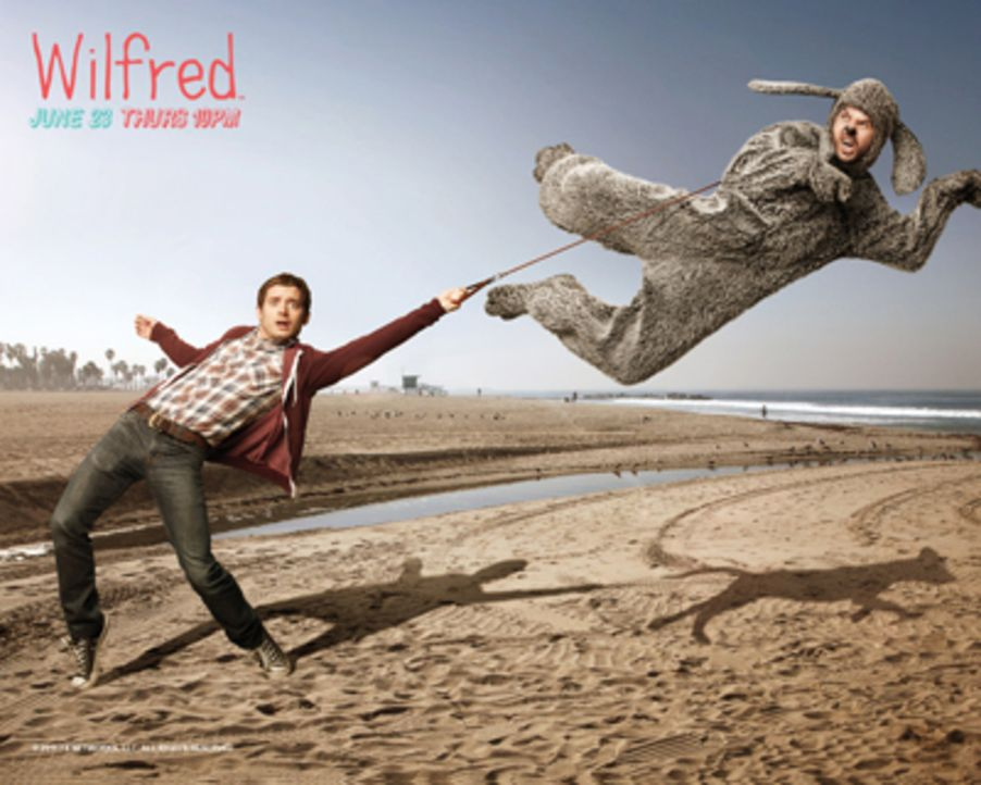 "(1. Staffel) - ""WILFRED"" - Artwork - Bildquelle: 2011 FX Networks, LLC. All rights reserved."