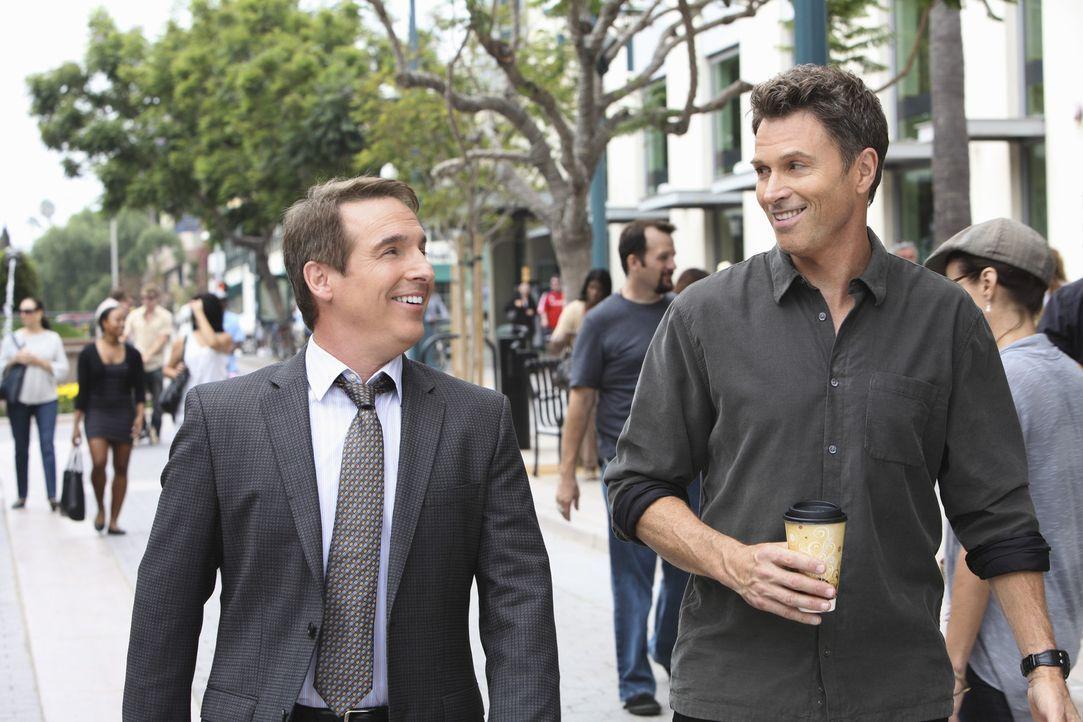 Männergespräche: Sheldon (Brian Benben, l.) und Pete (Tim Daly, r.) ... - Bildquelle: ABC Studios