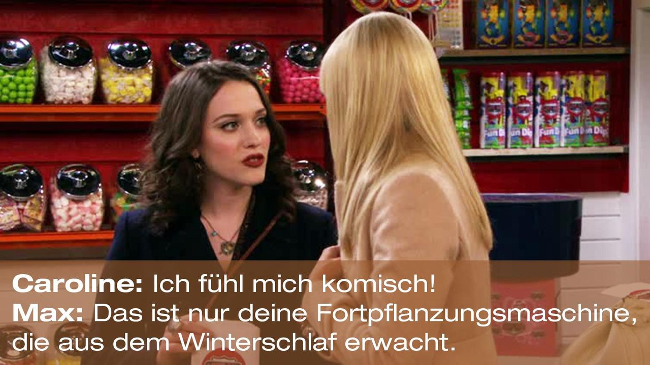 2-broke-girls-zitat-quote-staffel2-episode6-suesse-versuchung-max-fortpflanzungsmaschine-warnerpng 1600 x 900 - Bildquelle: Warner Brothers Entertainment Inc.