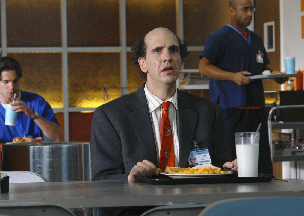 Ted (Sam Lloyd) hat statt Kaffee nur Dreck bekommen, was Kelso in die Wege geleitet hatte ... - Bildquelle: Touchstone Television
