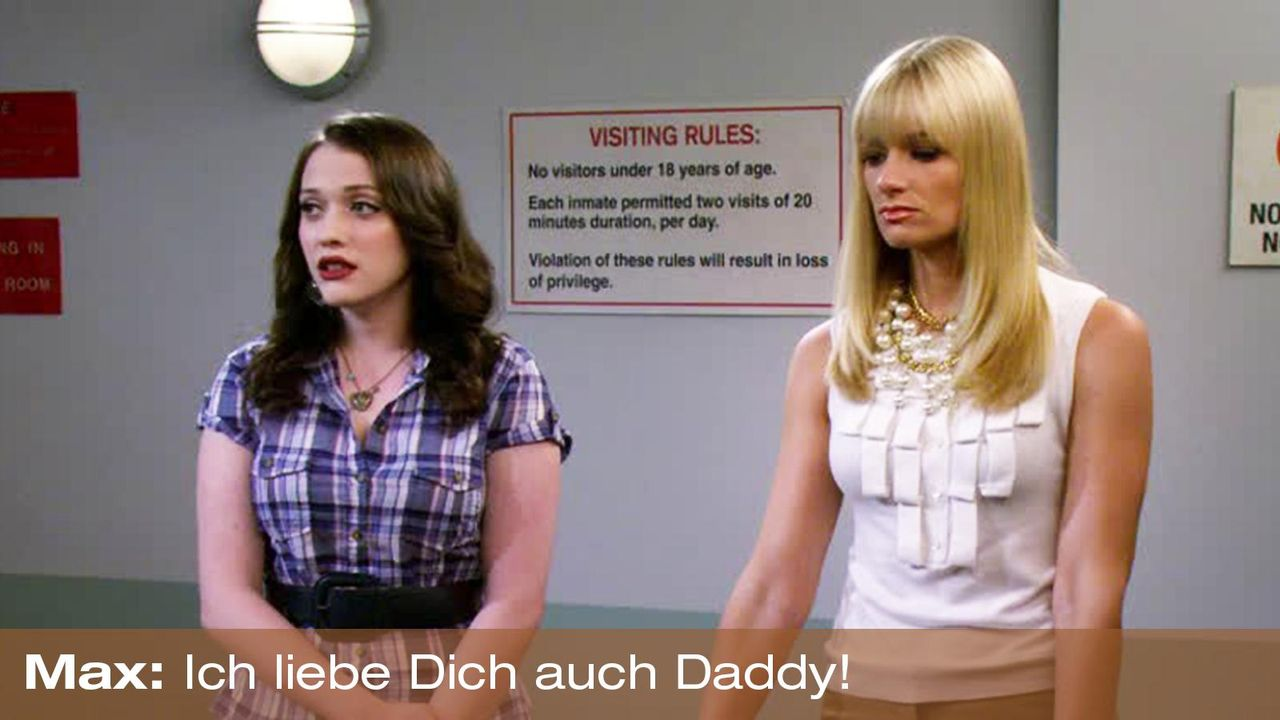 2-broke-girls-zitat-staffel2-episode2-kostbarer-pokal-max-daddy-warnerpng 1600 x 900 - Bildquelle: Warner Brothers Entertainment Inc.