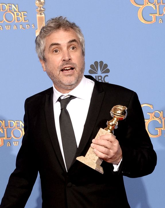 Golden-Globe-Alfonso-Cuaron-14-01-12-getty-AFP - Bildquelle: getty-AFP