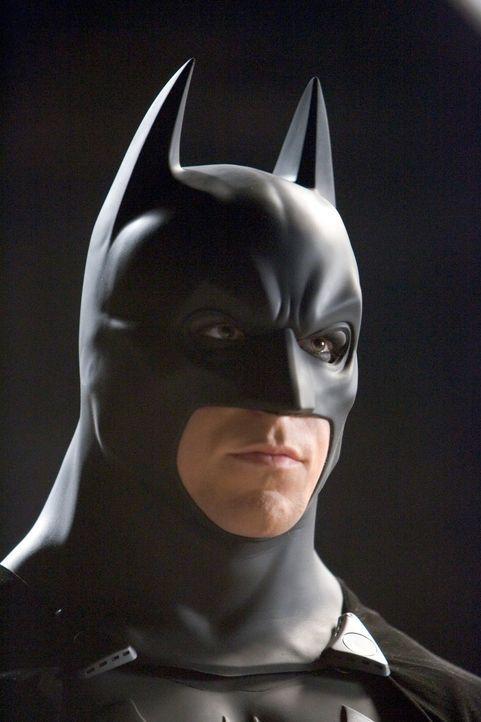 Will Gotham City von allem Bösen befreien: Batman (Christian Bale) ... - Bildquelle: 2005 Warner Brothers