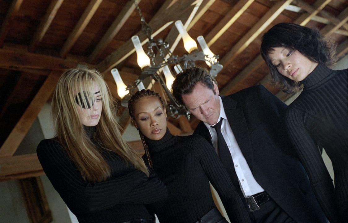 Auftrag ausgeführt: Vernita (Vivica A. Fox, 2.v.l.), Budd (Michael Madsen, 2.v.r.), Oren Ishi (Lucy Liu, r.) und Elle Driver (Daryl Hannah, l.) ... - Bildquelle: Miramax Films/Dimension Films. All Rights Reserved.