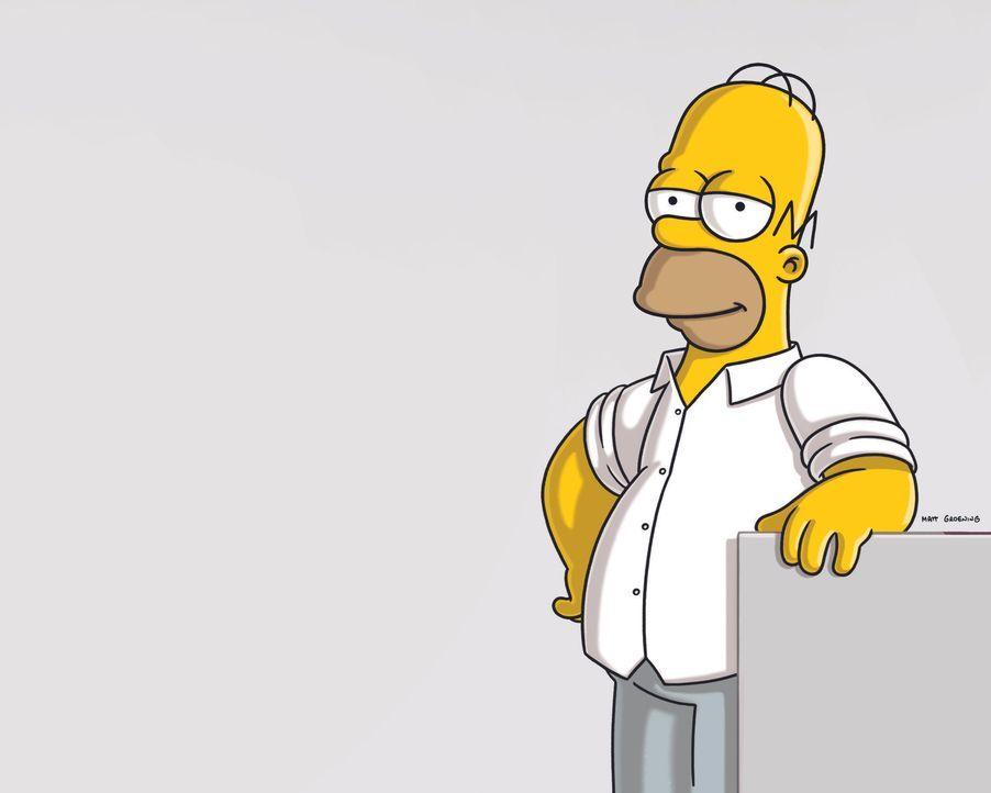 (20. Staffel) - Auch wenn er meist durch eher geringe Intelligenz, Faulheit und Egoismus auffällt - trotzdem man muss ihn einfach mögen: Homer Simps... - Bildquelle: 2008-2009 Twentieth Century Fox Film Corporation