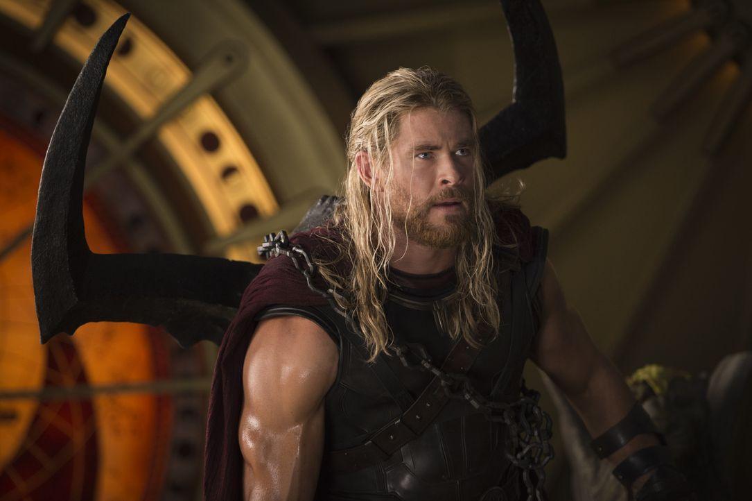 Thor (Chris Hemsworth) - Bildquelle: Jasin Boland Marvel Studios 2017 / Jasin Boland