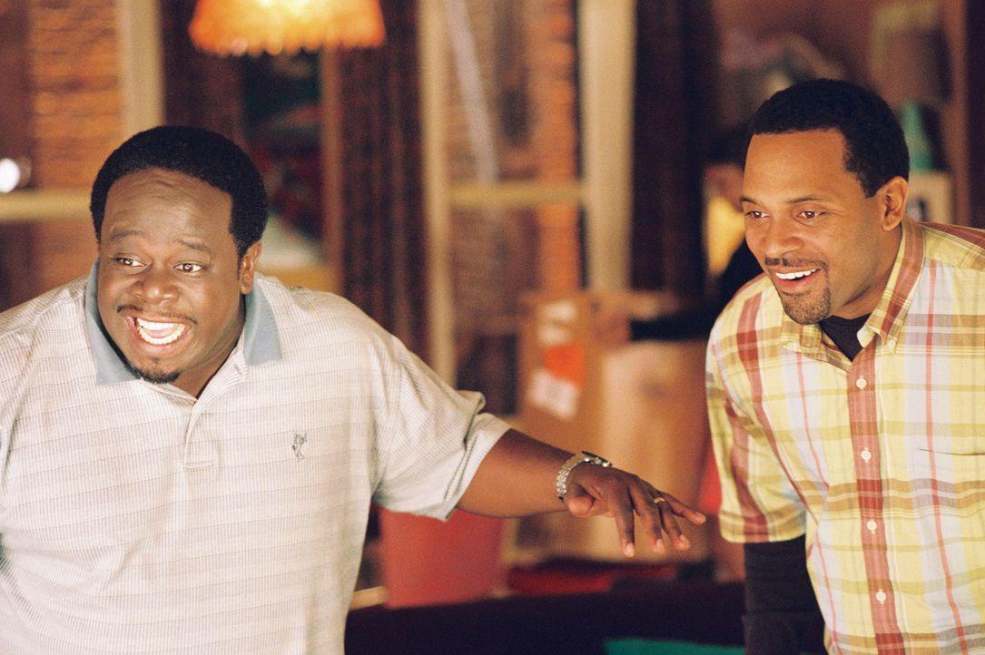 """Die Freunde Ralph (Cedric """"the Entertainer"""", l.) und Ed (Mike Epps, r.) haben großes vor. Doch wird ihr Plan aufgehen? - Bildquelle: TM &   2006 Paramount Pictures. All Rights Reserved."""