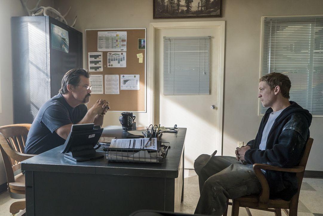 "Eric Marsh (Josh Brolin, l.); Brendan ""Donut"" McDonough (Miles Teller, r.) - Bildquelle: Richard Foreman Studiocanal GmbH / Richard Foreman"