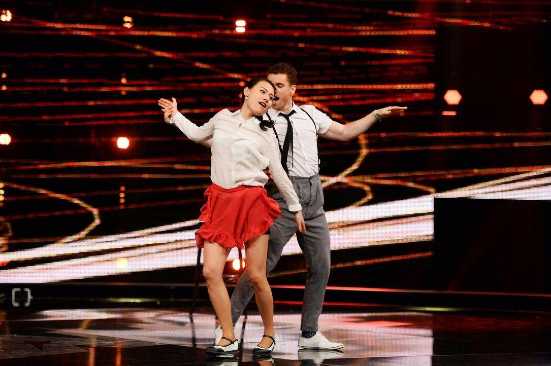 Got-To-Dance-Daniel-und-Claire-09-SAT1-ProSieben-Willi-Weber - Bildquelle: SAT.1/ProSieben/Willi Weber