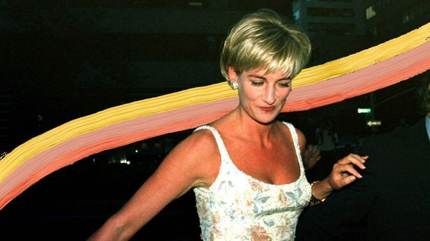 Der Look von Lady Diana ist uns allen in guter Erinnerung. Warum die 90er Fri...