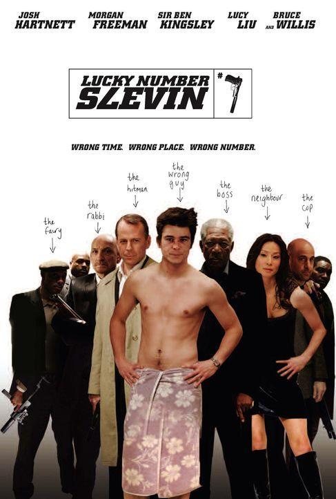 Lucky Number Slevin - Plakatmotiv - Bildquelle: Metro-Goldwyn-Mayer (MGM)
