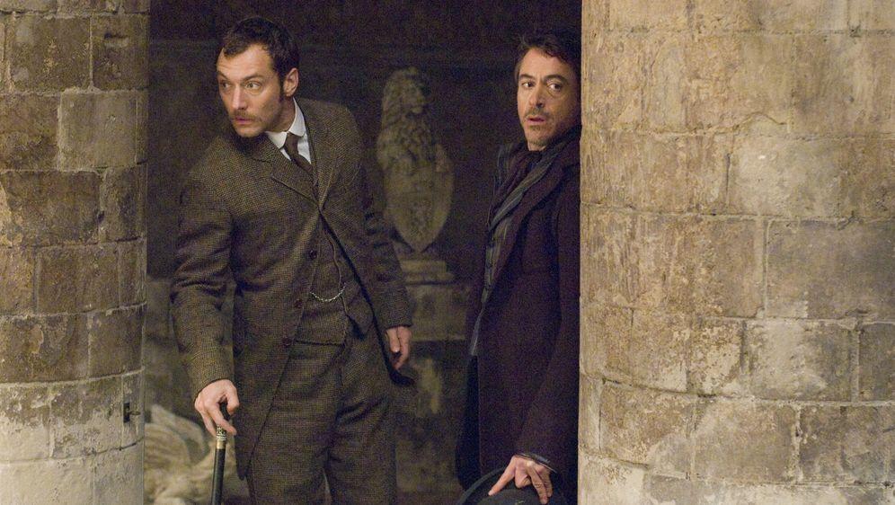 Sherlock Holmes - Bildquelle: Warner Brothers