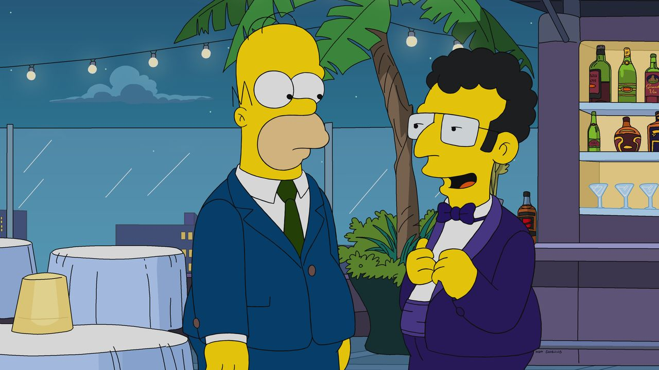 Homer (l.); Artie (r.) - Bildquelle: 2019-2020 Twentieth Century Fox Film Corporation.  All rights reserved.