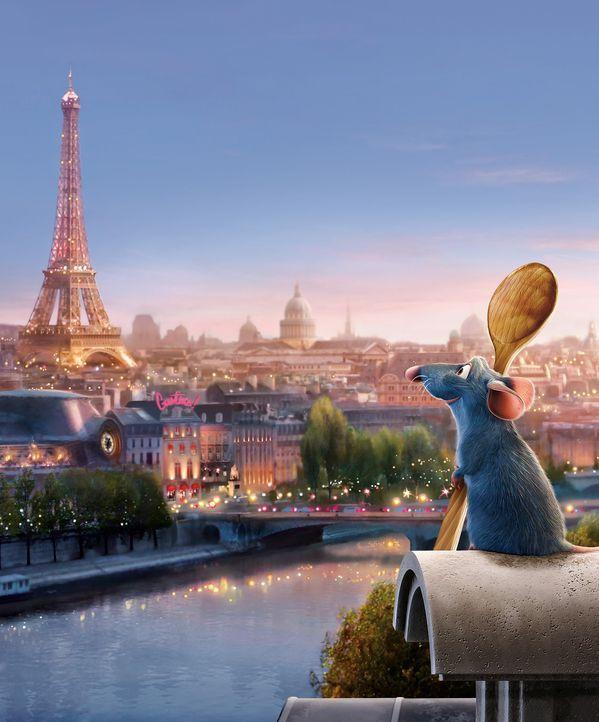 Remy, eine Ratte mit Vorliebe für Kochkunst, gutes Essen und mit einem ungewöhnlich feinen Geruchssinn ausgestattet, verschlägt es aus einem einf... - Bildquelle: Disney/Pixar.  All rights reserved