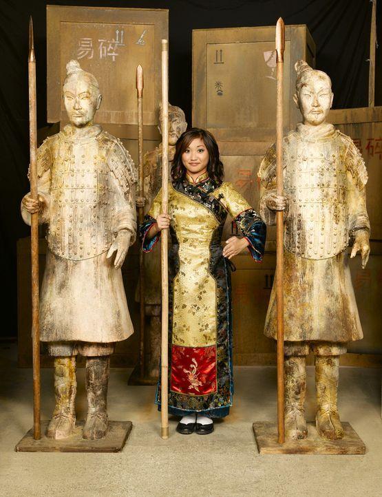 Eine Reinkarnation einer uralten Kriegerin: Wendy Wu (Brenda Song) ... - Bildquelle: Buena Vista International Television