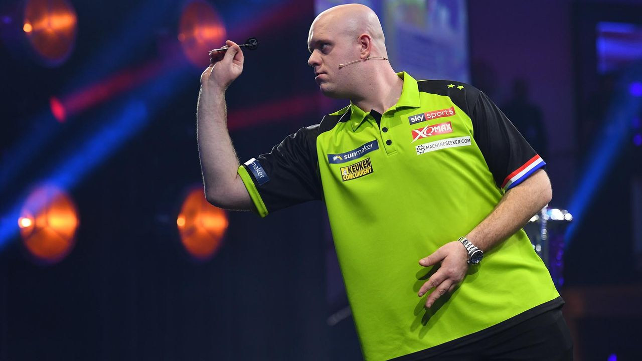 "Michael ""Mighty Mike"" van Gerwen - Bildquelle: Willi Weber Fotografie"