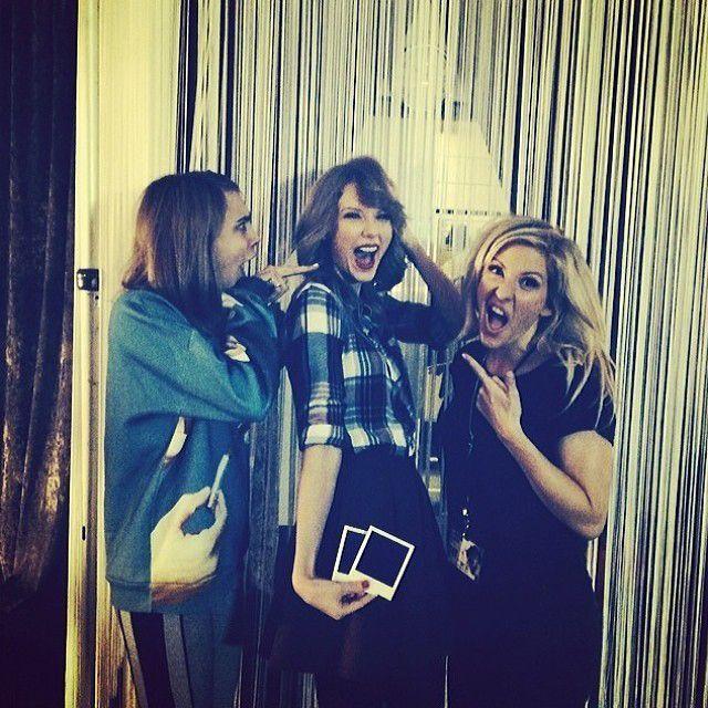 Cara-Delevingne-Taylor-Swift-Ellie-Golding-14-02-12-Instagram-CD - Bildquelle: Instagram/Cara Delevigne